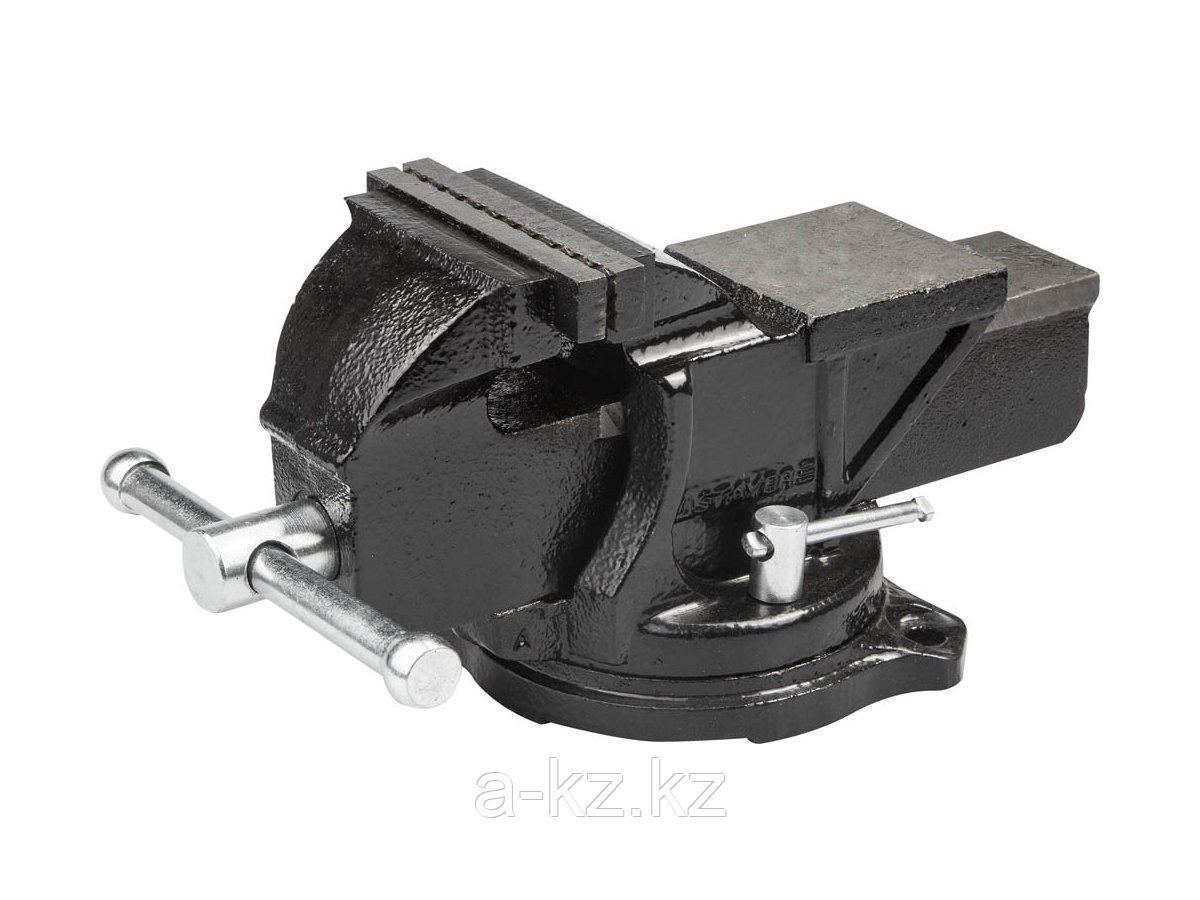 Тиски поворотные слесарные STAYER 3256-150, MASTER, 145 мм