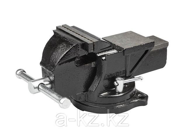 Тиски поворотные слесарные STAYER 3256-150, MASTER, 145 мм, фото 2