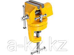 Тиски поворотные слесарные STAYER 3247-50_z01, STANDARD, настольные, 50 мм