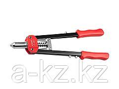 Заклепочник ручной ЗУБР 31198, ЭКСПЕРТ С-48 для вытяжных заклепок, 2,4-3,2-4-4,8мм