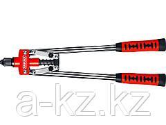 Заклепочник двуручный MIRAX 31034_z01 для заклёпок из алюминия и стали d=2,4 / 3,2 / 4,0 / 4,8 мм,  литой корпус