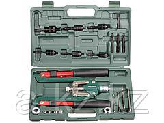Заклепочник ручной KRAFTOOL 31182, INDUSTRIE, силовой двуручный складной для вытяж. и резьб. заклепок, штифтов, 3,2-4-4,8-6-6,4мм