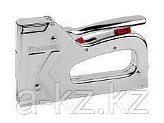 Степлер мебельный строительный KRAFTOOL 3180, EXPERT, повышенной мощности, тип 53 (красная): 6-14мм, тип 300: 16мм, 2-в-1