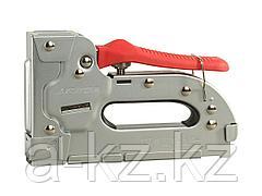 Степлер мебельный строительный STAYER 31505, EXPERT, пластинчатый регулируемый тип 53, тип300: 10-16мм, тип500: 14-16мм