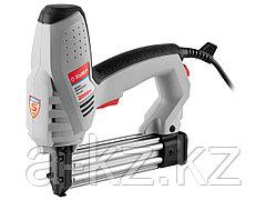 Степлер электрический ЗУБР ЗСП-2000, регулятор силы удара, скоба 15-25мм, гвоздь 15-30мм, 2000Вт