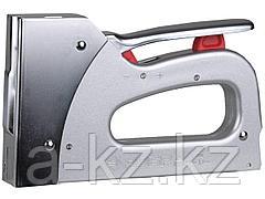 Степлер мебельный строительный ЗУБР 31523_z01, ЭКСПЕРТ, пластинчатая пружина, металлический корпус, 2 в 1, тип скобы 53, 6-14 мм