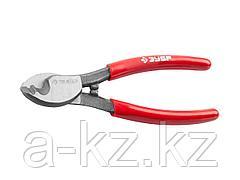 Кабелерез ЗУБР 23343-15, МАСТЕР для резки небронированного кабеля из цветных металлов, цельнокованые из Ст 55, кабель сечением до 22 мм2, 150 мм