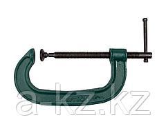Струбцина KRAFTOOL 32229-100, EXPERT, тип G, высокопрочный чугун с шаровидным графитом, 4/100 мм