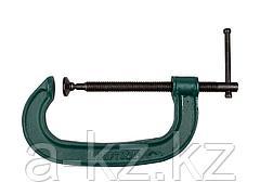 Струбцина KRAFTOOL 32229-150, EXPERT, тип G, высокопрочный чугун с шаровидным графитом, 6/150 мм