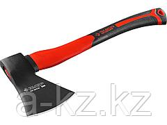 Топор столярный ЗУБР 2061-10, МАСТЕР кованый с двухкомпонентной стеклопластиковой рукояткой, 1,0 кг
