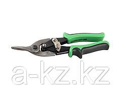 Ножницы по металлу ручные STAYER 23055-L, MASTER, CrV, левые, 250 мм