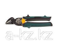 Ножницы по металлу ручные KRAFTOOL 2326-R, UNI-KRAFT, с двойной рычажной передачей, Cr-Mo, двухкомпонентная ручка, правые, 180 мм