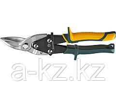 Ножницы по металлу ручные KRAFTOOL 2328-L, Alligator 260мм, левые, кованая Cr-MO сталь, холоднокатанная сталь – 1,2 мм, нерж.сталь – 0,8 мм