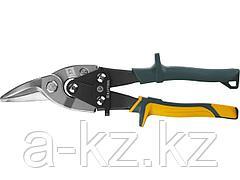 Ножницы по металлу ручные KRAFTOOL 2328-R, Alligator 260мм, правые, кованая Cr-MO сталь, холоднокатанная сталь – 1,2 мм, нерж.сталь – 0,8 мм