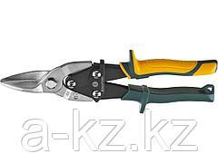Ножницы по металлу ручные KRAFTOOL 2328-S, Alligator 260мм, прямые, кованая Cr-MO сталь, холоднокатанная сталь – 1,2 мм, нерж.сталь – 0,8 мм