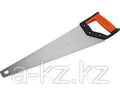 Ножовка по дереву MIRAX 1502-50_z01, Universal, 500 мм, 5 TPI, рез вдоль и поперек волокон, для крупных и средних заготовок
