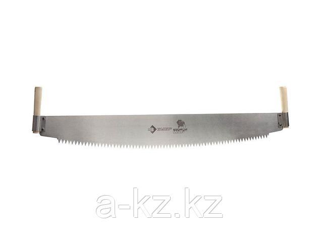 Пила двуручная  ЗУБР 1524-100, МАСТЕР, шаг зуба 12 мм, 1000 мм, фото 2