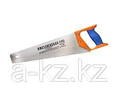 Ножовка по дереву ИЖ 1520-40-04_z01, ПРЕМИУМ, с двухкомпонентной пластиковой рукояткой, шаг 4 мм, 400 мм