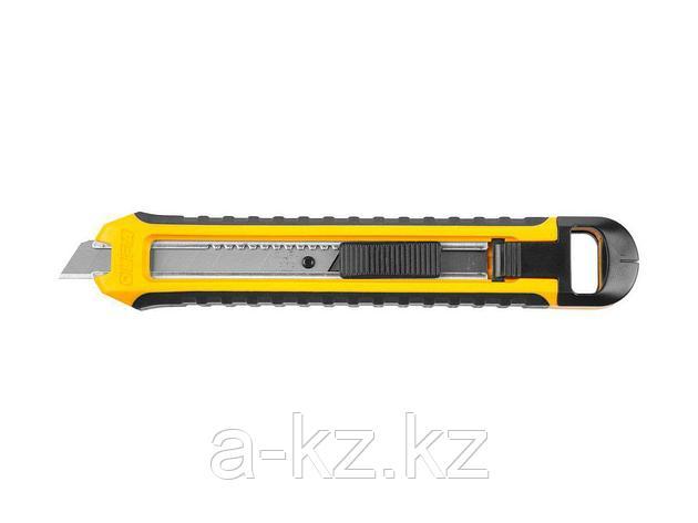 Нож по гипсокартону OLFA OL-CS-5, с мини-ножовкой, полотно 95 мм, для тяжелых работ, нож AUTO LOCK с сегментированным лезвием 12,5 мм, 2 в 1, фото 2
