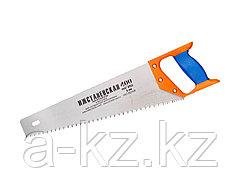 Ножовка по дереву ИЖ 1520-40-05_z01, ПРЕМИУМ, с двухкомпонентной пластиковой рукояткой, шаг 5 мм, 400 мм