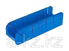 Стусло ЗУБР 15392-75, ЭКСПЕРТ, пластиковое, для заготовок до 75 х 50 мм, 4 угла запила