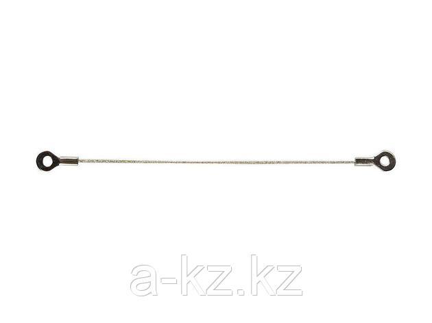 Струна пила алмазная ЗУБР 33398-150-60, пилка с алмазным напылением, P 60, 150 мм, фото 2