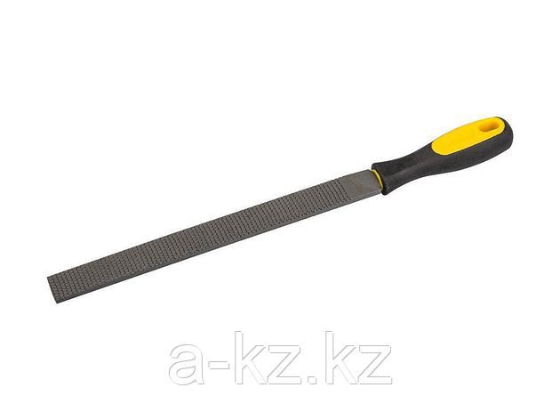 Рашпиль STAYER PROFI плоский, двухкомпонентная рукоятка, № 2, 250мм, 16621-25_z01, фото 2