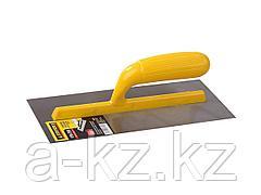 Гладилка STAYER MASTER стальная с пластмассовой ручкой, 120х280мм, 08012