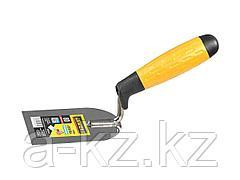 Кельма лопатка STAYER PROFI нержавеющее полотно, 2-х компонентная рукоятка, 80x110мм, 08295-08