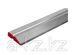 Правило ЗУБР ЭКСПЕРТ алюминиевое, профиль ДВУХВАТ, со стальной рабочей кромкой, 2,5м, 1072-2.5_z01