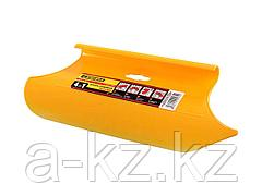 Шпатель STAYER прижимной универсальный для обоев, пластмассовый, 4-в-1, 280мм, 1021