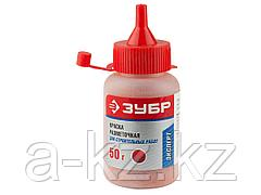 Краска ЗУБР разметочная для строительных работ, красная, 50г, 4-06405-2_z01