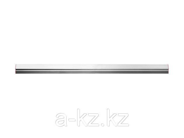 Правило ЗУБР МАСТЕР алюминиевое, профиль ДВУХВАТ с ребром жесткости, 1,5м, 10721-1.5, фото 2