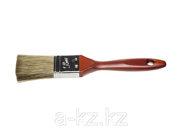 Кисть плоская малярная STAYER 01051-038, LASUR - LUX, деревянная ручка, смешанная щетина, 38 мм, фото 2