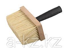 Кисть макловица малярная ЗУБР 4-01853-17, ЭКСПЕРТ битумная, деревянный корпус, щетина из натурального волокна, 70 х 170 мм