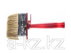 Кисть макловица малярная ЗУБР 01825-10, УНИВЕРСАЛ - МАСТЕР, КМ-25, светлая натуральная щетина, 30 х 100 мм