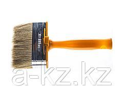 Кисть макловица малярная STAYER 0182-10, МИНИ PROFI, натуральная светлая щетина, пластмассовый корпус, 30 х 100 мм
