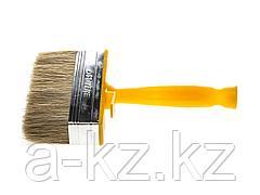 Кисть макловица малярная STAYER 0182-12, МИНИ PROFI, натуральная светлая щетина, пластмассовый корпус, 30 х 120 мм