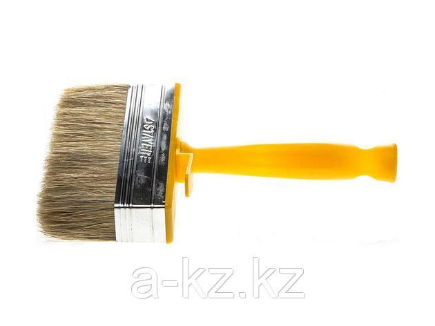 Кисть макловица малярная STAYER 0182-12, МИНИ PROFI, натуральная светлая щетина, пластмассовый корпус, 30 х 120 мм, фото 2