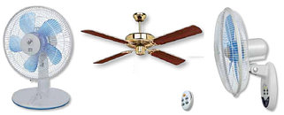 Вентиляторы напольные, настольные, потолочные и настенные