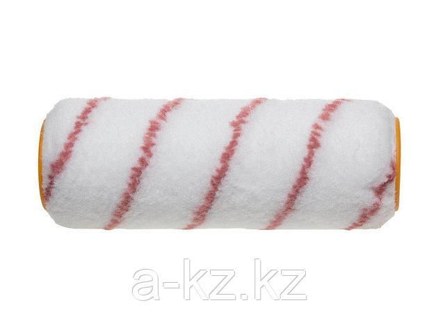 Ролик для малярных валиков STAYER 0216-18, PROFI NYLON ПОЛИАМИД ворс 10мм, бюгель 8мм, 48х180мм, фото 2