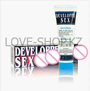 Developpe Sex - гель-смазка для увеличения пениса и продления полового акта.
