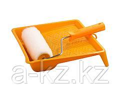 Валик малярный в наборе, STAYER, ВЕСТАН с ванночкой, 180мм, 0540-18