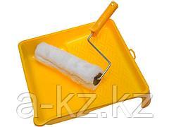 Валик малярный в наборе, STAYER, ВЕСТАН с ванночкой, 240мм, 0540-24