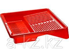 Ванночка для малярных валиков ЗУБР 06055-27, ЭКСПЕРТ, пластмассовая, для валиков до 270 мм, 360 х 360 мм