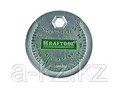 Измеритель зазора свечи KRAFTOOL с градуировкой, 0,4-2,6мм, 43258