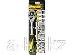 Набор инструментов торцовые головки STAYER 27750-H12, STANDARD, на пластиковом рельсе, трещотка, удлинитель, 10 - 24 мм, 12 предметов