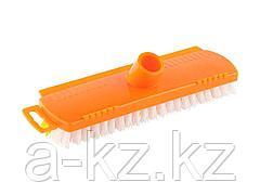 Щетка DEXX для пола, пластиковая, с короткой жесткой щетиной, 39124