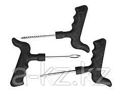 Набор STAYER МАСТЕР для ремонта бескамерных шин: шило, игла, рашпиль, 3шт, 43270-H3