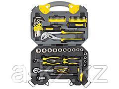 Набор инструментов универсальный STAYER 27710-H56, PROFI, универсальный, высококачественная CR-V сталь, хромированное покрытие, 56 предметов